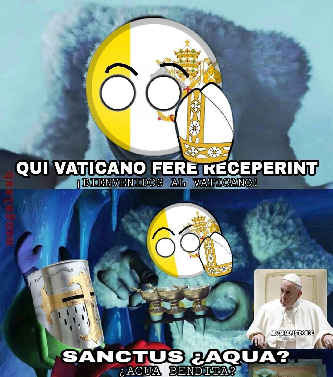 Si esta mal el latin perdoname Templario/Gracias a ArKuskan por la idea - meme