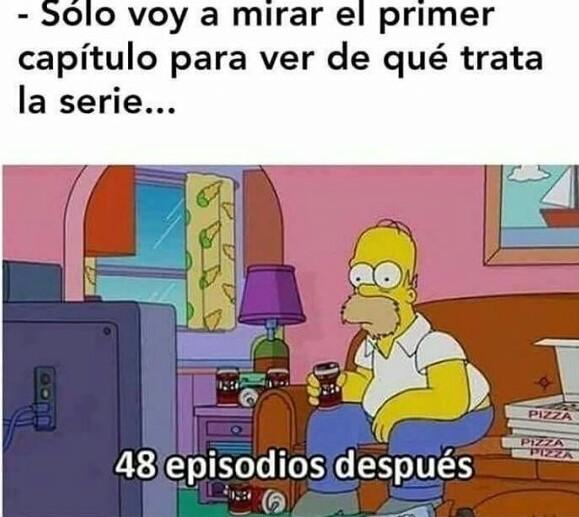 Las series - meme
