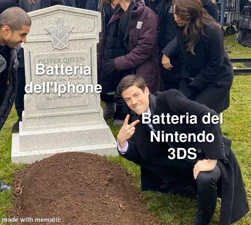 Ma che switch e switch, VIVA IL 3DS - meme