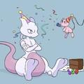 Happy birthday mewtwo :D