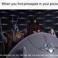 Pineapple does NOT go on pizza