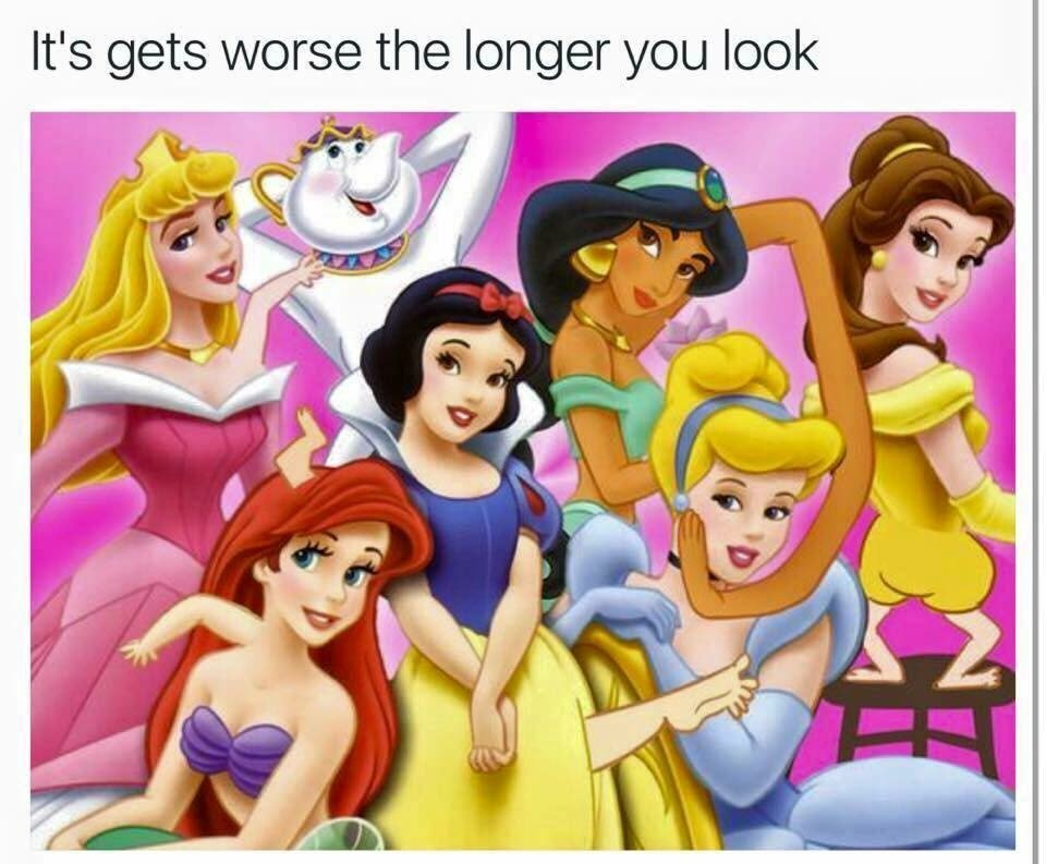 Disney princesses - meme