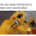 mining in minecraft.
