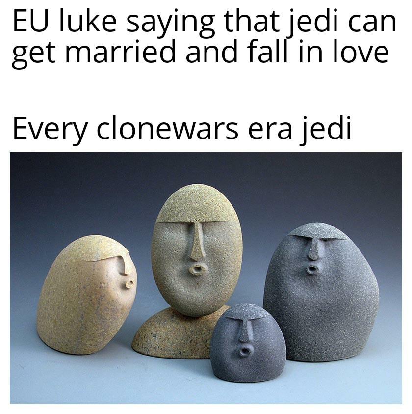 Judging stones - meme