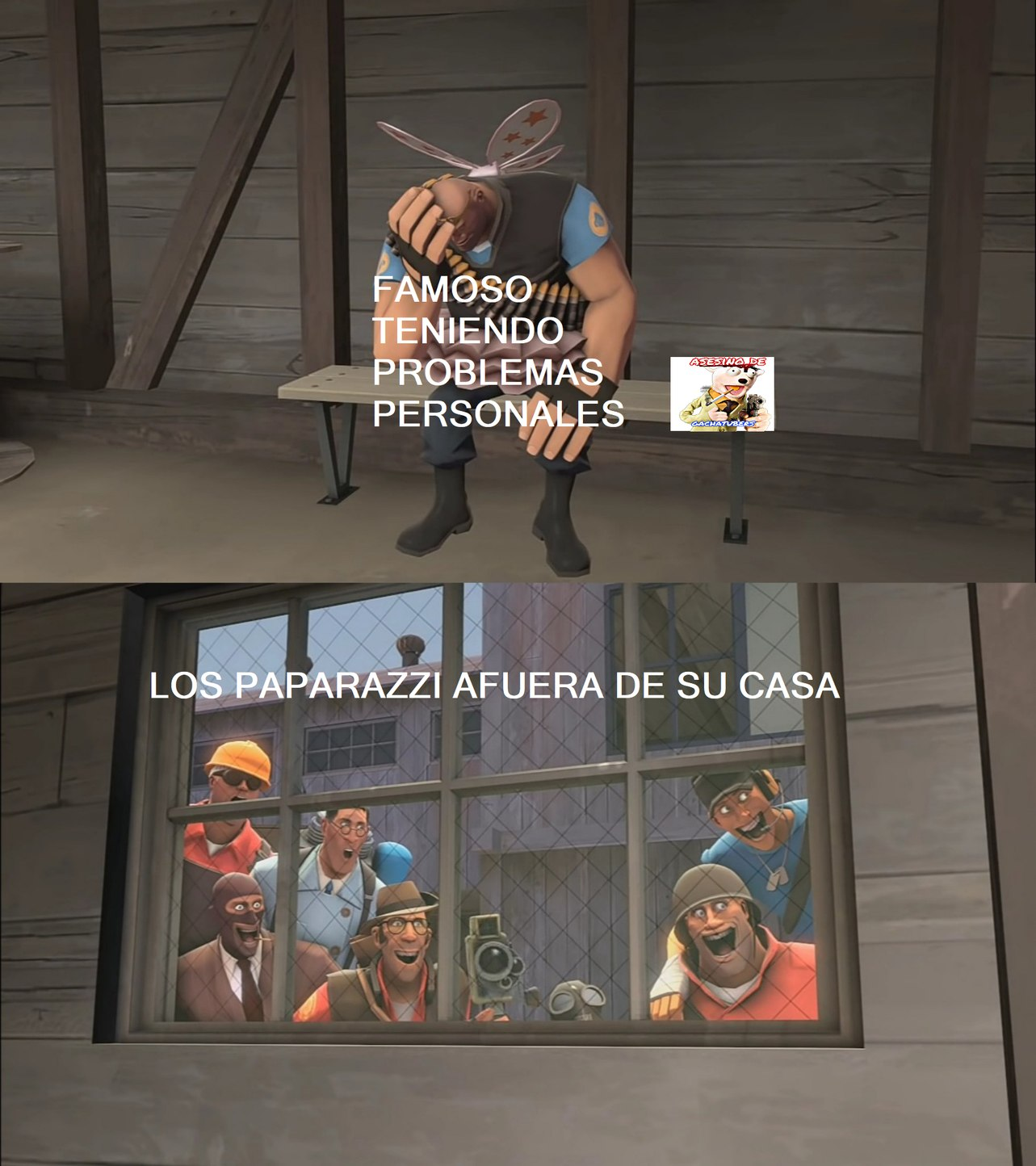REZANDO PARA QUE NO SEA IDEA USADA - meme
