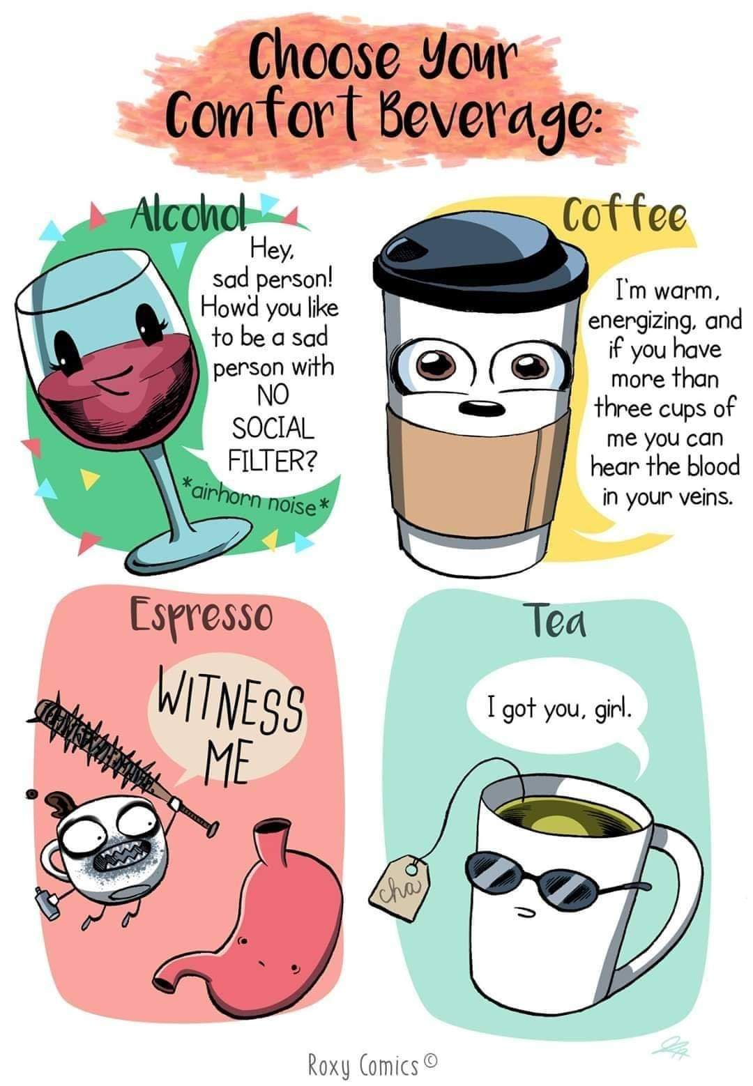 I must drink too much coffee cuz I dont hear my blood &I regularly drink more than 3 cups - meme