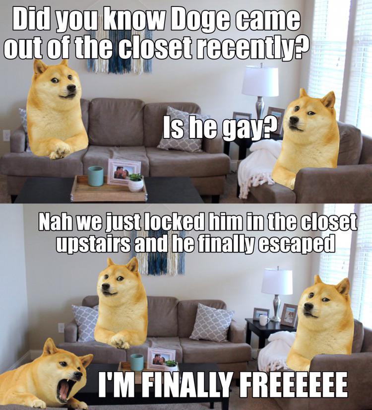 Le literal closet has arrived - meme