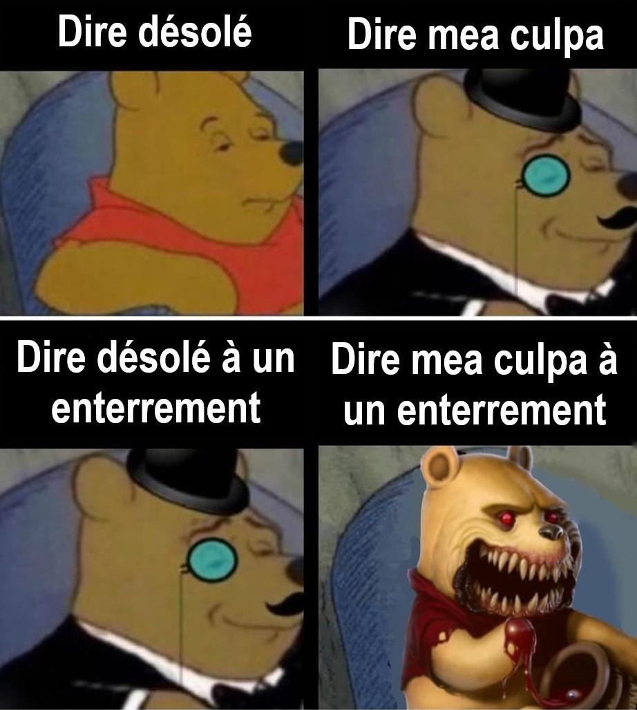 Winnie the serial killer - meme