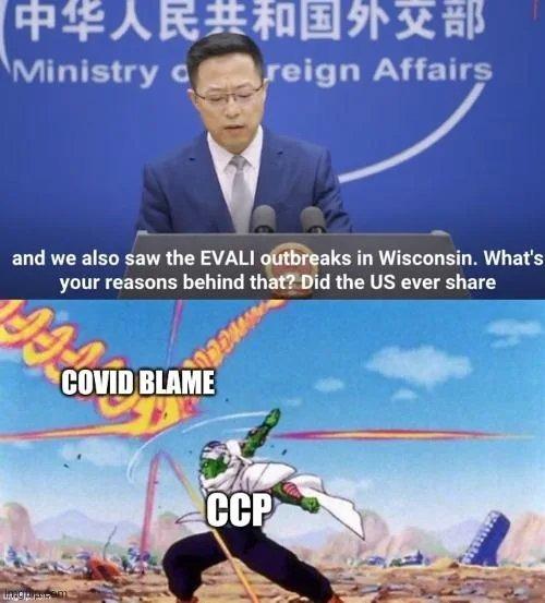 CCP be like - meme