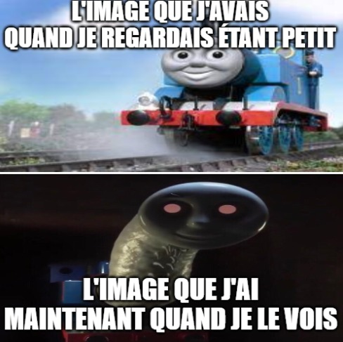 Thomas le train - meme