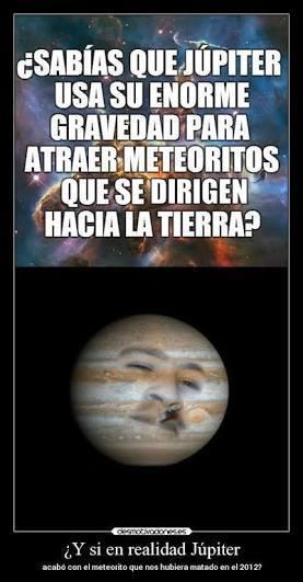 Curiosidad de Júpiter - meme