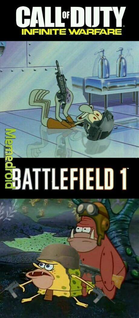 Bf1 vs iw - meme