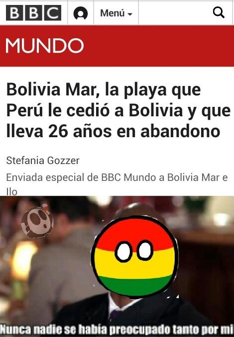 Bien por Bolivia - meme