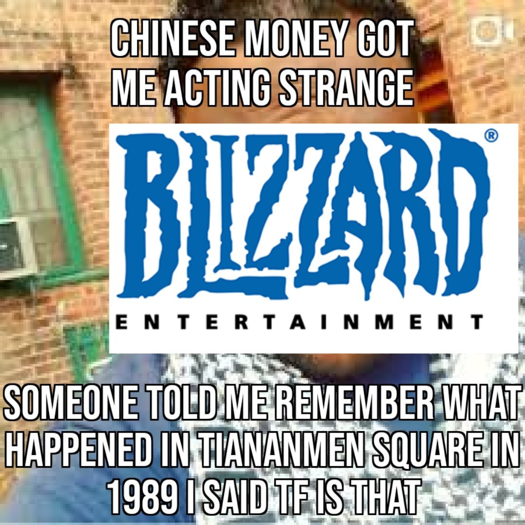 Ya dun goofed blizz - meme