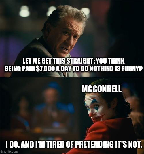 Politicians are clowns - meme