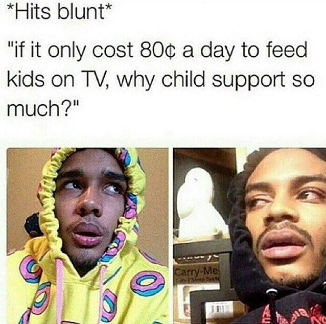 Child Support - meme