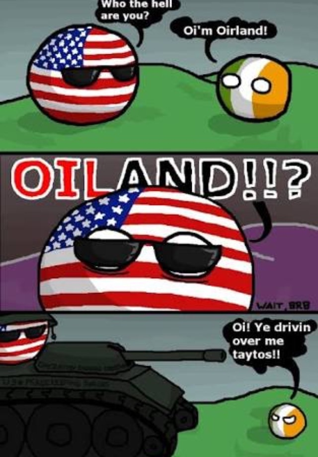 oiland is done - meme