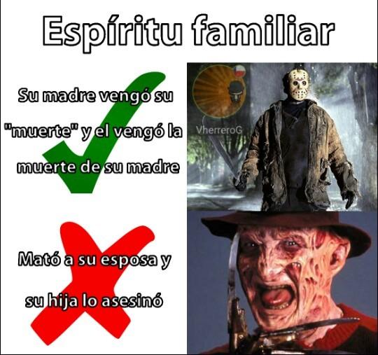 Punto para Jason - meme