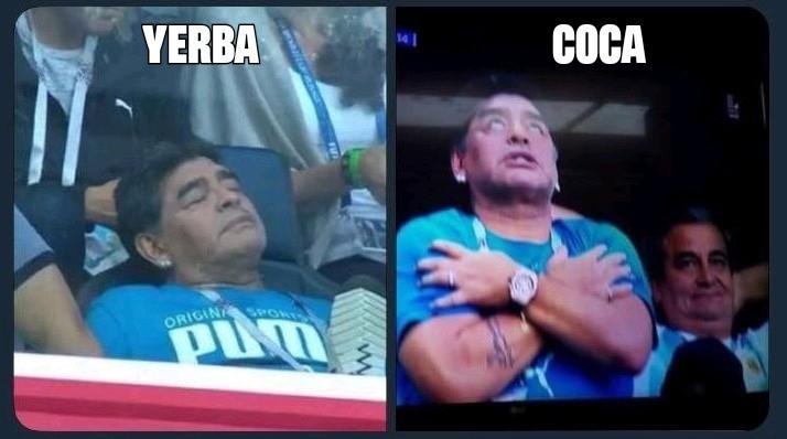 Yerba vs Coca - meme