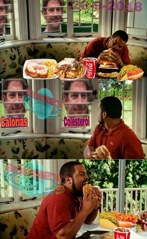 Hay comidas típicas de México, Chile y Argentina - meme