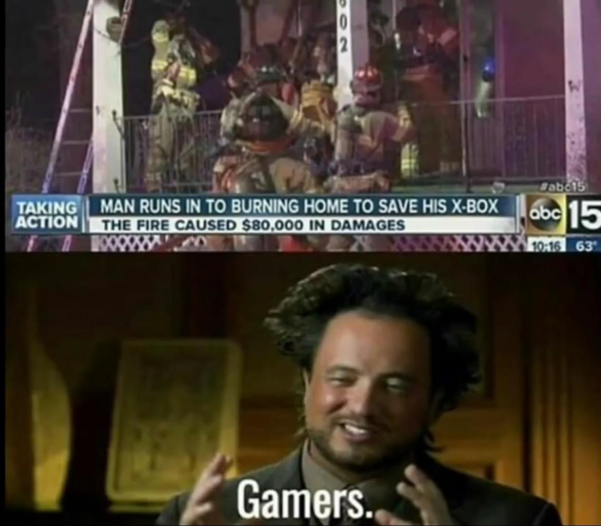 Gamers. - meme