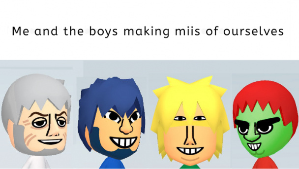 Me and the boys memes are dead anyway, might as well get some points