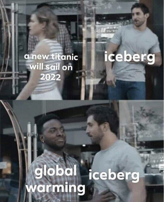 global warming - meme