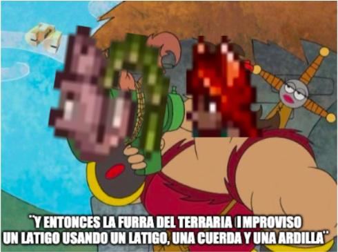si no entiendes el meme solo busca ¨zoologa terraria¨ en google y te aparece.