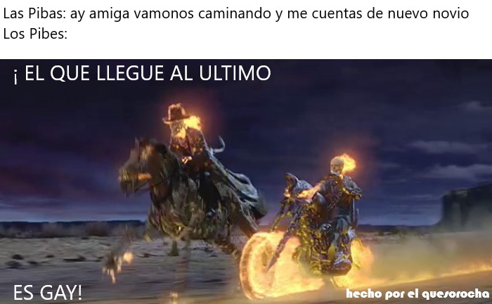 Ya se que es el tercer meme que hago de ghost rider pero... inactividad