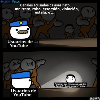 Muchos idiotas creen que Shelos1life es peor que RandomWare y hasta que Peluchín Entertainment :pukecereal: - meme