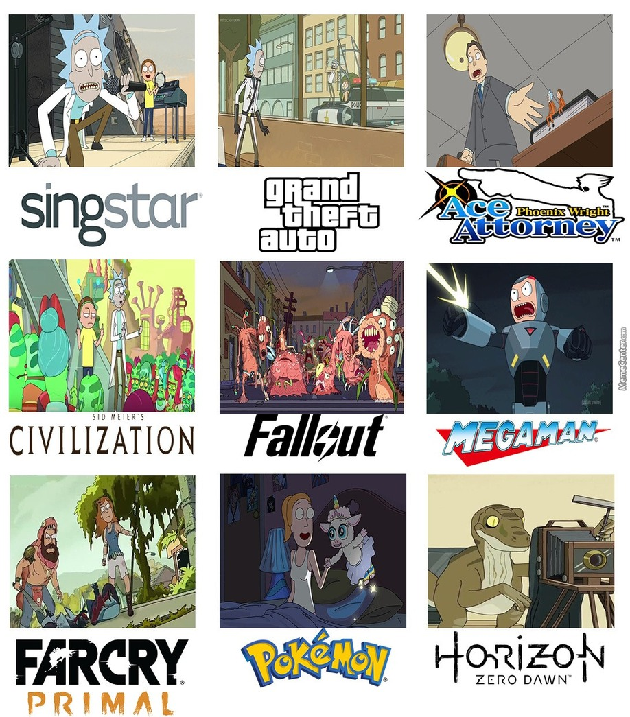 Video games - meme