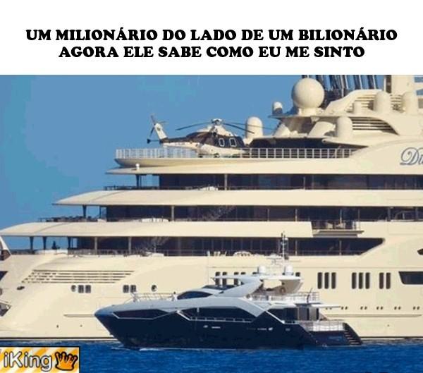 Milionários..... - meme