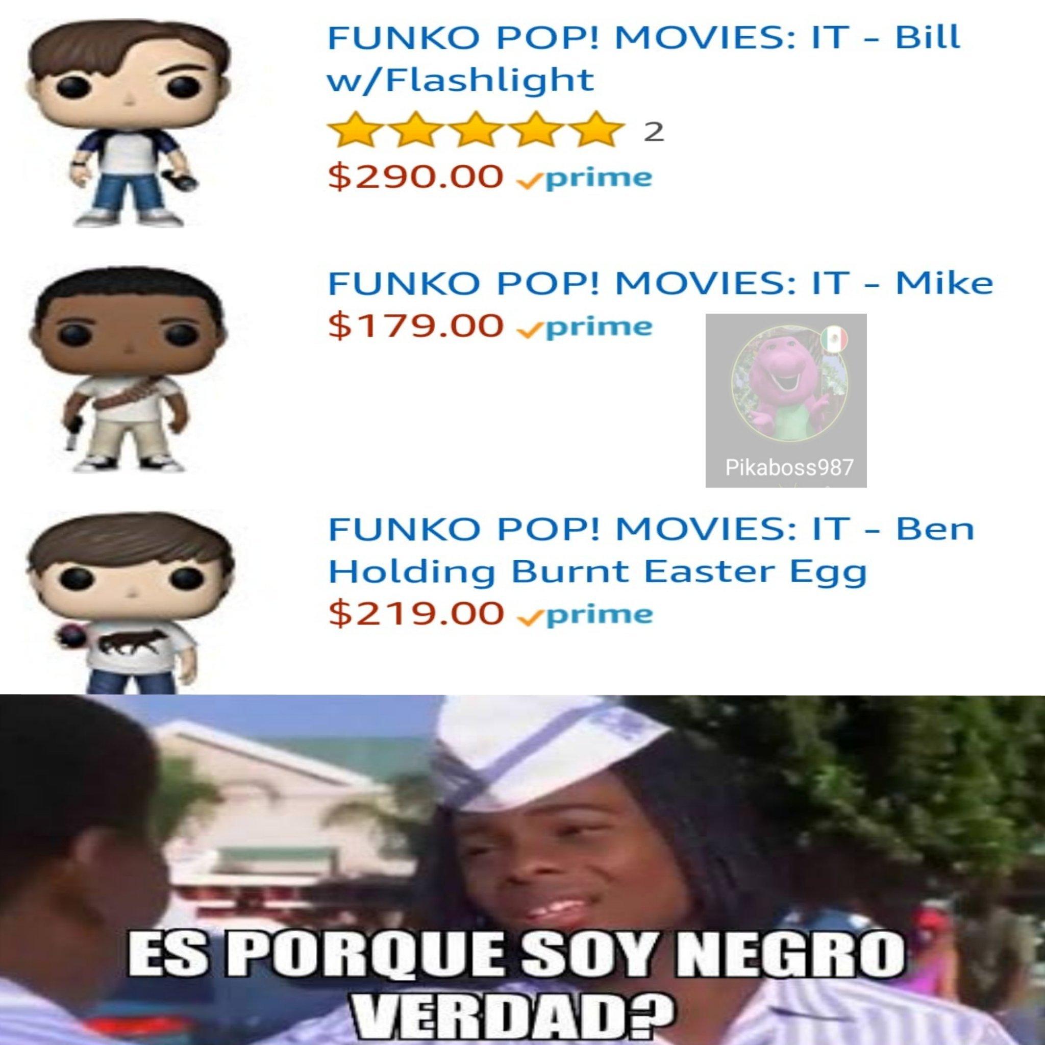 Que racistas - meme