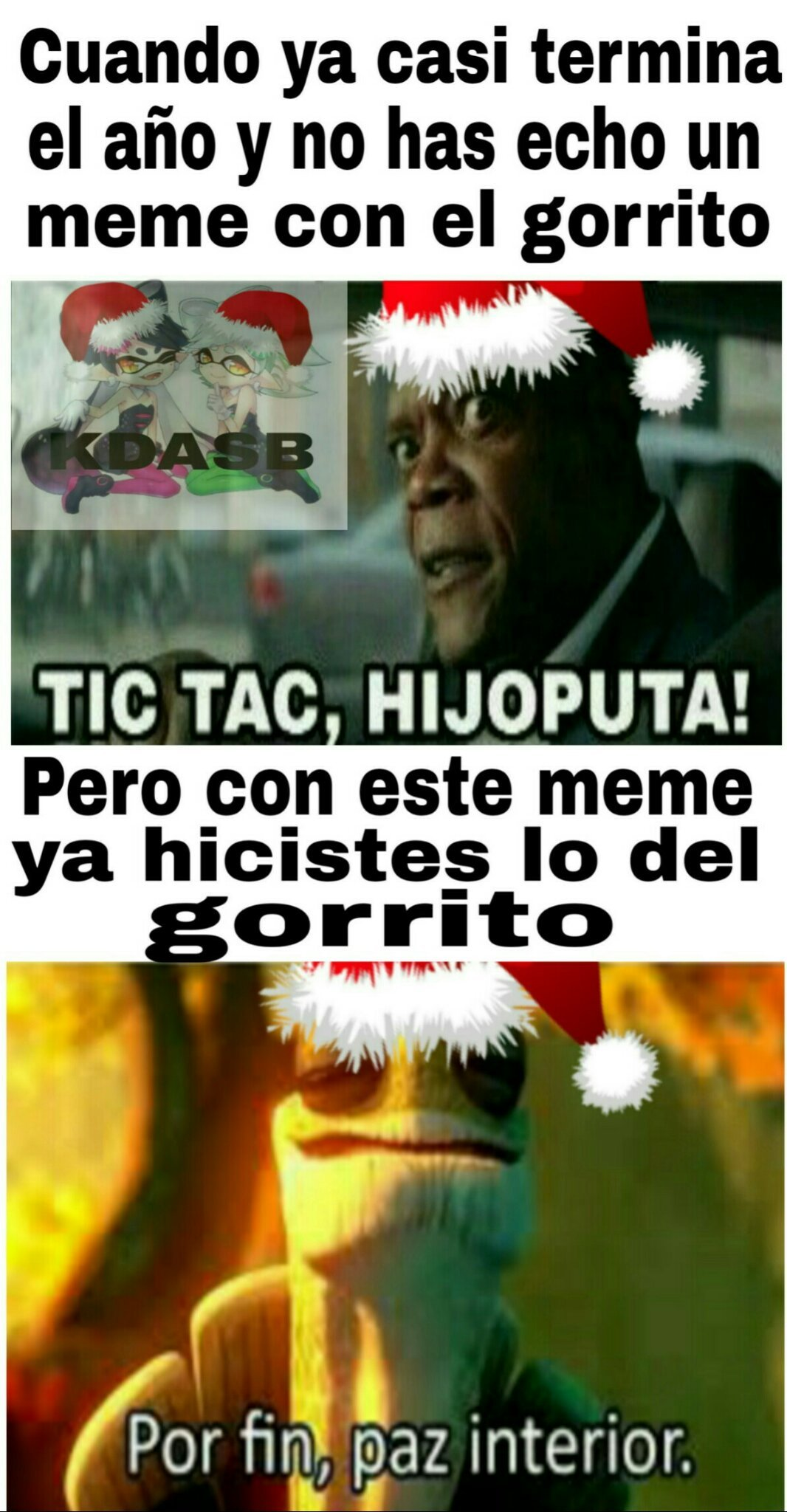 Feliz Navidad :3 - meme