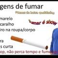 vantagens de fumar parte 2