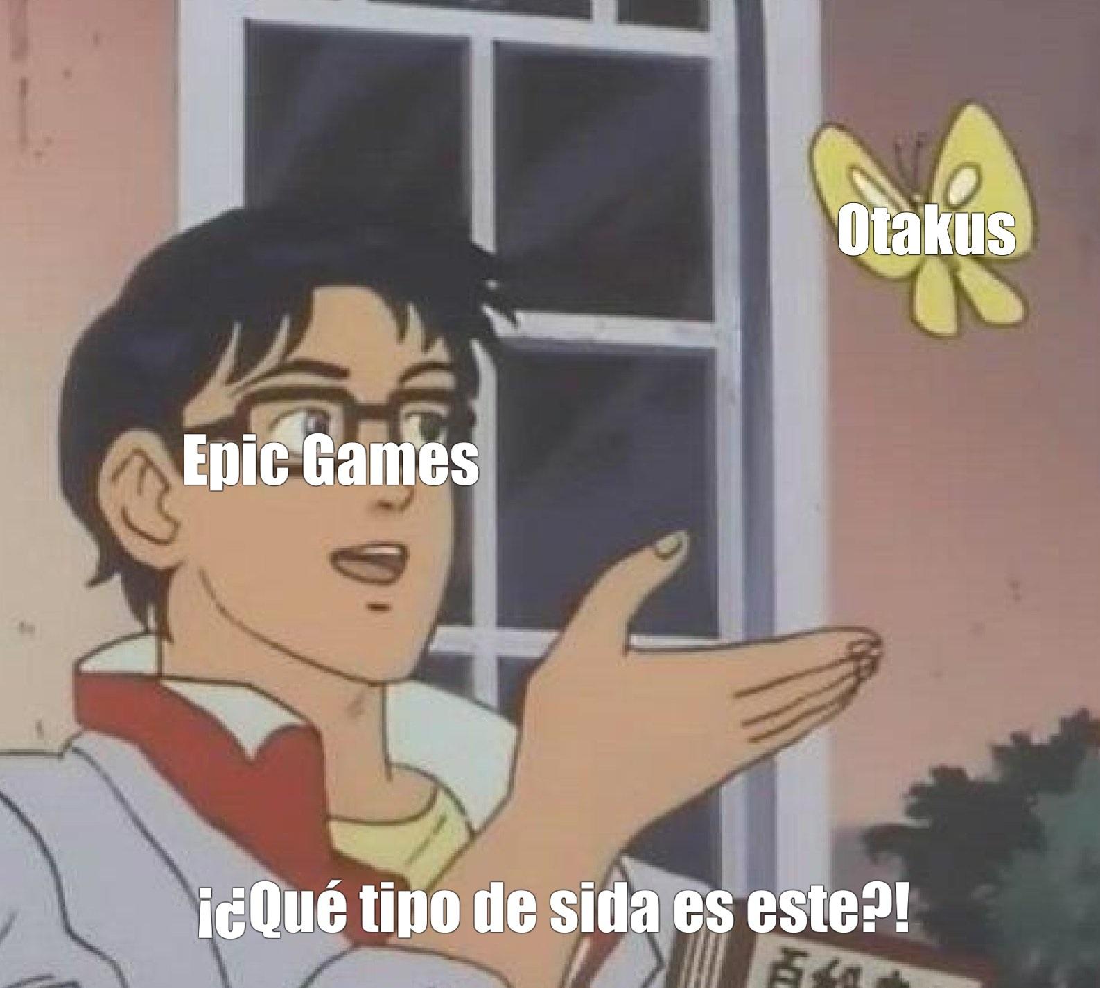 Malditos OTAKUS - meme
