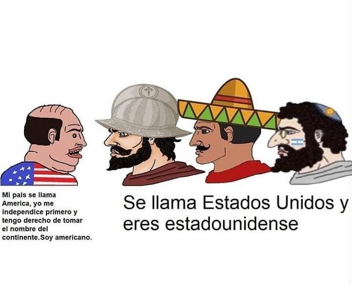 Gringos pendejos - meme