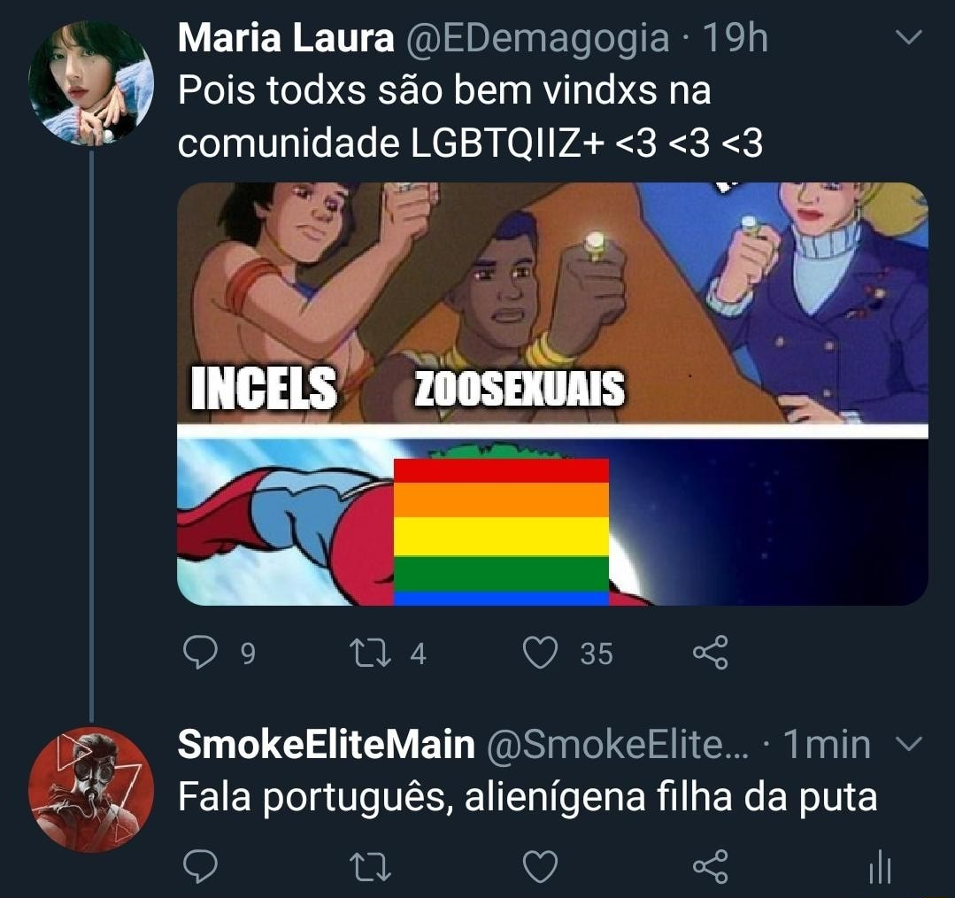 fala português ped0filho da puta - meme