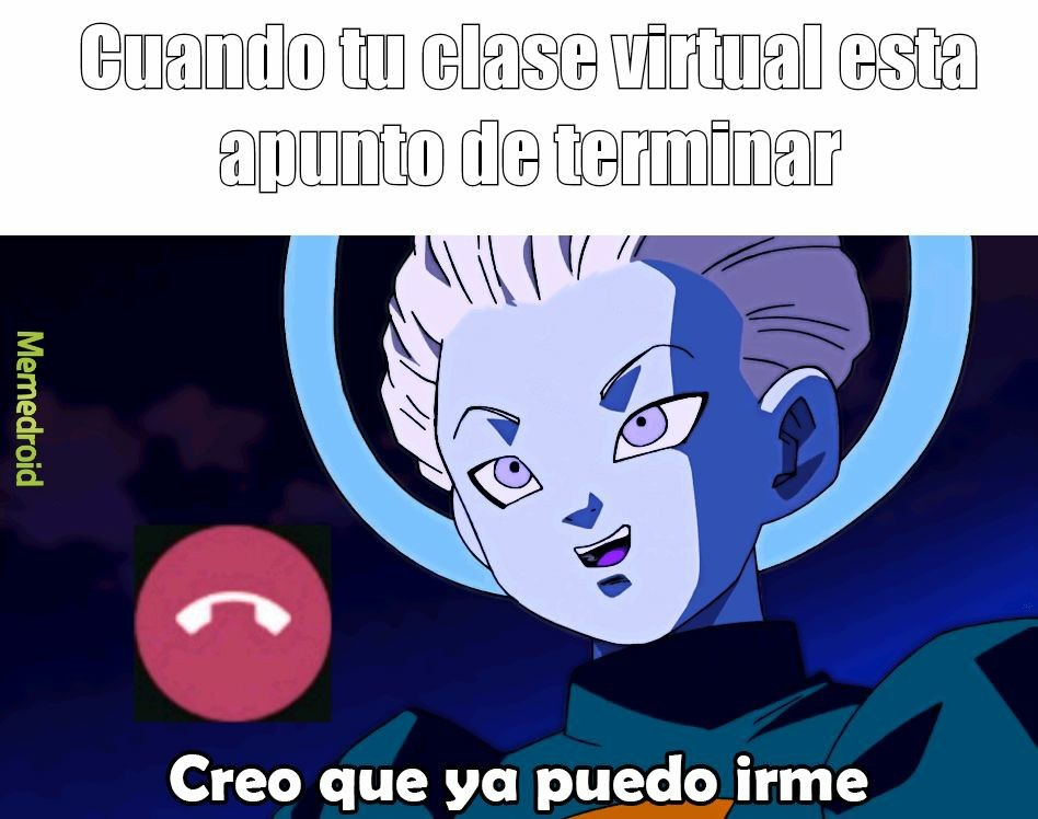 Pinches clases virtuales - meme