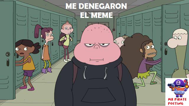 Me denegaron un meme :(