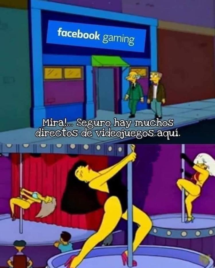 Directos de videojuegos - meme