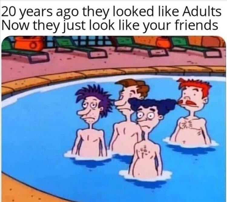 your friends - meme