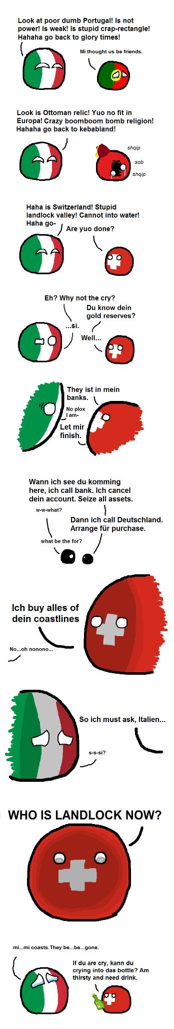 Swiss Bank - meme