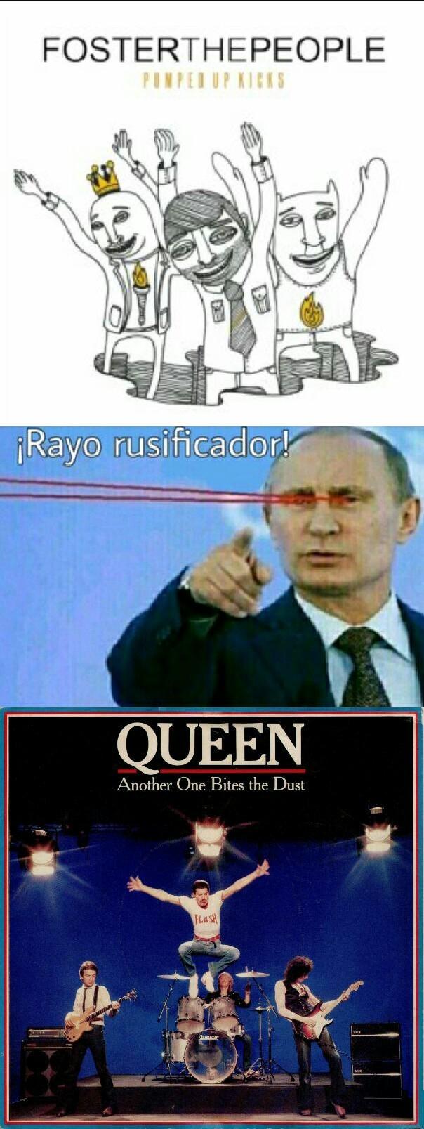 El titulo es ruso - meme