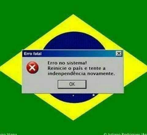 Error Brasil - meme