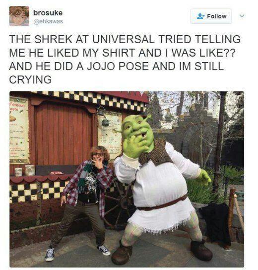 Is that..... A MOTHA FUCKIN JOJO REFERENCE!?!?!? - meme