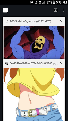 Curse you He-man chan! - meme