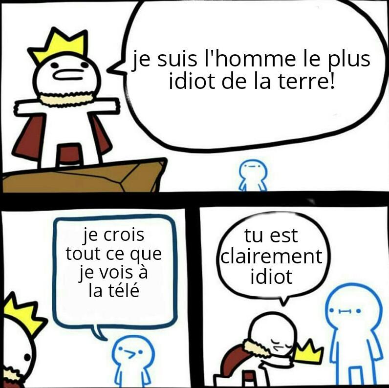 Le roidiot - meme
