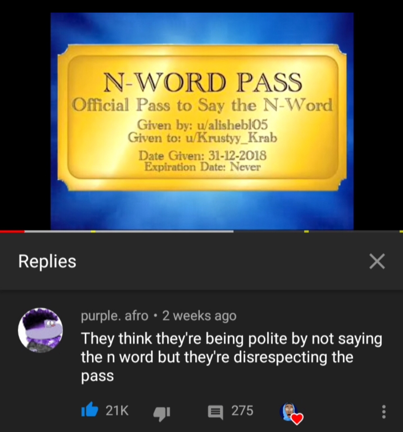 YT comments are the best - meme