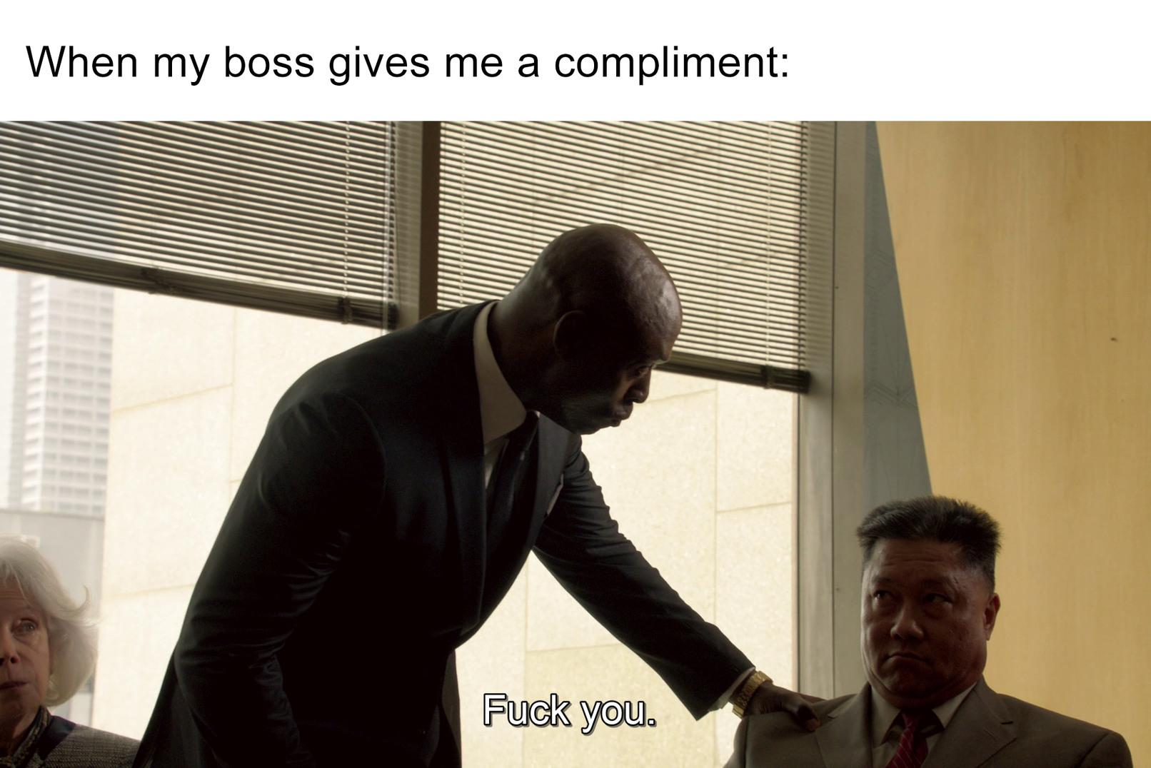Boss - meme